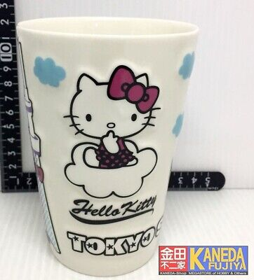 Hello Kitty Cafe Collectible 16 oz Clear Plastic Solo Cup Lid and Straw NEW