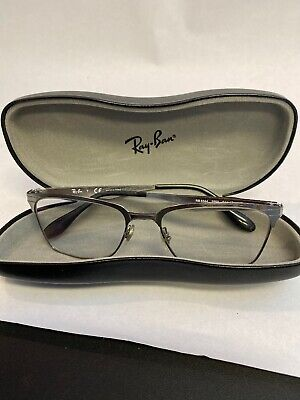 Ray-Ban Rb 6344 2553 Gray Authentic Eyeglasses Frame Rx Rb6344
