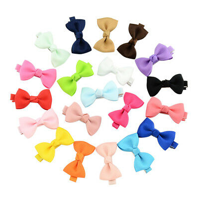 5/10Pcs Sweet Baby Newborn Infant Kids Girls Bow Bowknot Hair Clips Hairpi RAS