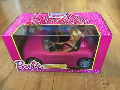 Barbie Glam Convertible And Doll Brand New Sealed Christmas Present