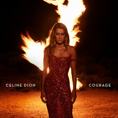 Celine Dion ** Courage **BRAND NEW DELUXE EDITION WITH POSTER CD