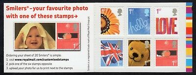 GB: SG 2567a Smilers (1st series); Retail stamp booklet unmounted mint (MNH)