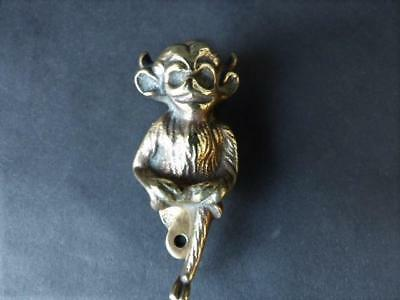 Antique Brass Door Knocker - Lincoln Imp Victorian Door Knocker - Door Furniture