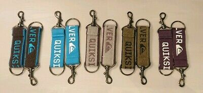 Quiksilver Key Chain - Keyring - Surf Surfer - Variety Of Colours - New Free P&P