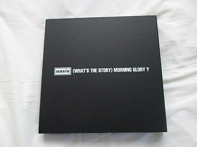 Oasis- (What's the story) Morning Glory?- Clamshell deluxe box+ print & postcard