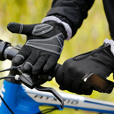 Winter Touch Screen Cycling Gloves MTB Bicycle Bike Full Finger Cycle Shockproof
