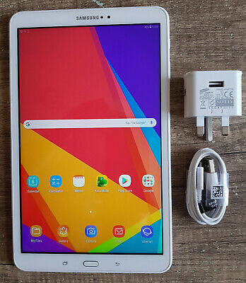 """Samsung Galaxy Tab A 6  2016 SM-T580 10.1"""" 16GB White Wi-Fi Android Tablet"""