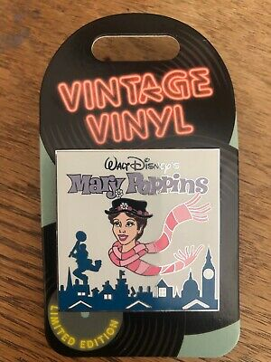 Disney Parks Vintage Vinyl Mary Poppins Pin LE3000