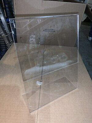 8.5 x 11 Slanted Acrylic Sign Holder Display 5 pack