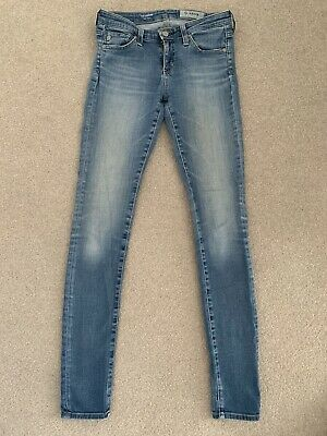 "ag adriano goldschmied Super Skinny ""The legging"" Jeans Size 25 Blue"