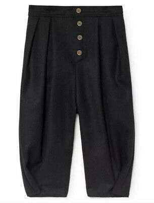 NWT Little Creative Factory Black Woolen Trousers Size 4 Years Pants