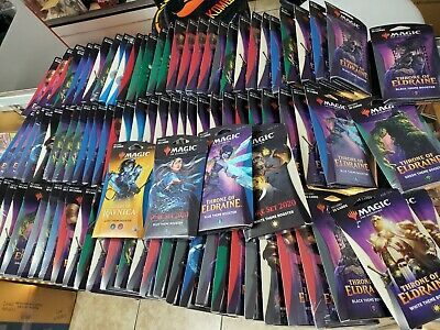 MTG HUGE LOT of 50 mixed Magic the Gathering Theme booster packs!!
