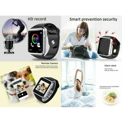 Waterproof Bluetooth Smart Watch Phone Mate For iphone IOS -amsung LG Android