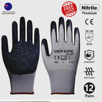 General purpose Safety work Gloves Mechanic Gloves Construction Gloves 12 Pairs