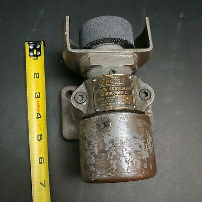 NORTON NO. 1 Brake Controlled Truing Device USA Diamond Wheel Dresser Machinist