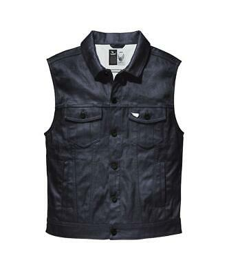 NEW Saint Moto Denim Vest - Indigo from Moto Heaven