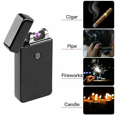 Windproof Electric Cigarette Lighter Sensitive USB Rechargeable Flameless