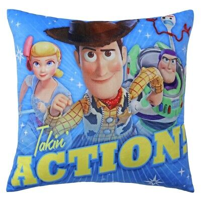 NEW Toy Story Take Action Cushion By Spotlight