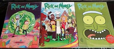 Rick and Morty Complete Seasons 1-3 DVD