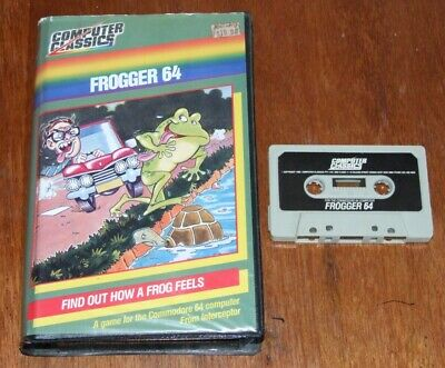 Frogger 64 game program for Commodore 64 C64