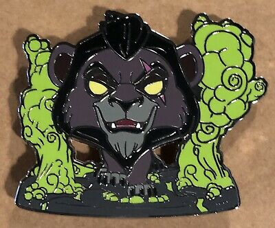 Disney Boxlunch Mystery Box SCAR WITH FLAMES Villains Funko POP Pin
