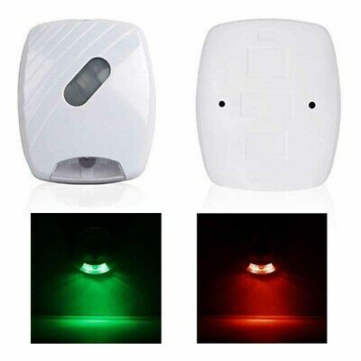 Bathroom LED Toilet Seat Light PIR Motion Activated Night Sensor 24 Colours Lamp