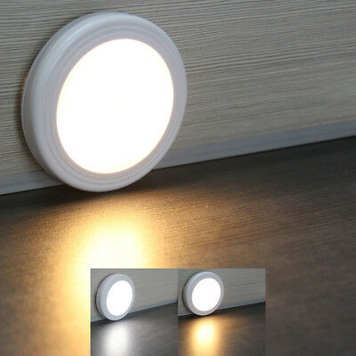 6 LED PIR Wireless Body Motion Sensor Night Light Cabinet Wardrobe Wall Lamp
