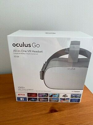Oculus Go All-In-One Virtual Reality Headset 32GB - White