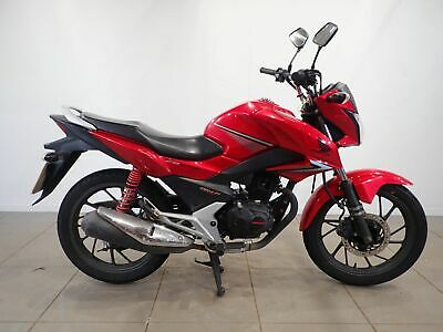 Honda CB GLR 125 2015 Red Spare or Repair Restoration Project Donor Damaged