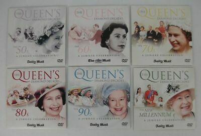 The Queens Diamond Decades (6 DVD) Promo Collection Full Set