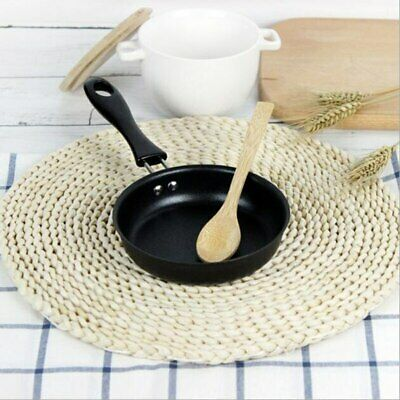 Cast Iron Mini Frying Pan 12 Cm Breakfast Pan For Gas Stove And Induction Cooker