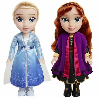 Disney Frozen 2 Princess Anna and Elsa Sister Interactive Feature Doll 2 pack...