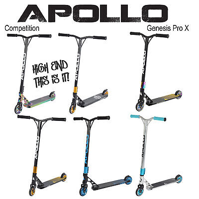Apollo Stunt Scooter - Genesis Pro X Competition - ABEC 9 Kugellager
