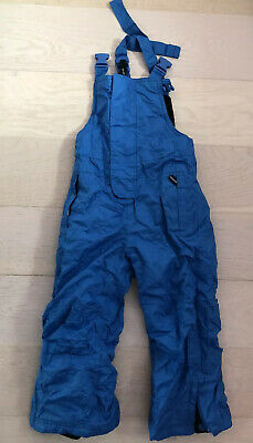 Warm Snow Ski Trousers Size 2 - 4 Years Used Boy Girl 98 - 104 Cm Worn Once