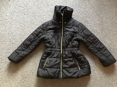 Girls Debenhams Bluezoo Coat Size 7/8yrs