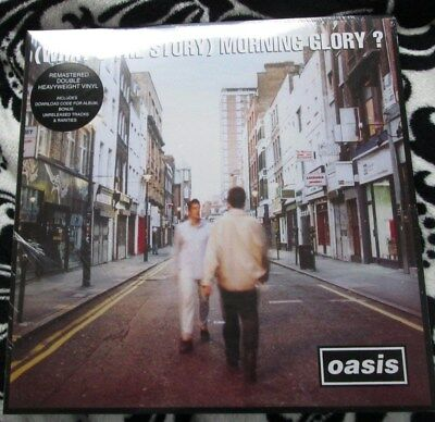 Oasis (What's the story) Morning glory?  Deluxe remastered vinyl. Factory sealed