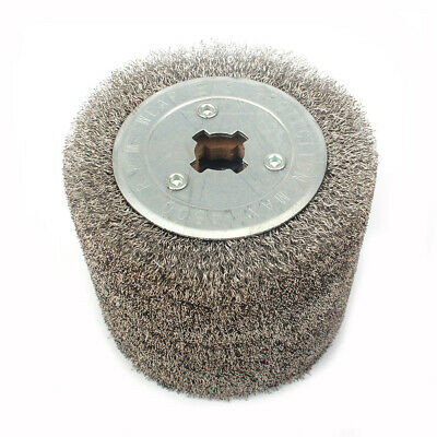 4 Inch Stainless Steel Wire Drawing Abrasive Wheel For Polishing Rust Removal