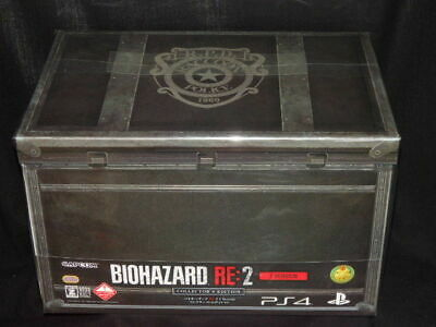 NEW PS4 CAPCOM Resident Evil BIOHAZARD RE:2 Z Version COLLECTOR'S EDITION Japan