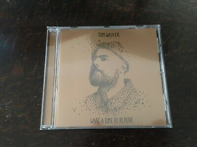 Tom Walker-What A Time To Be Alive 21 Track Cd Album. Like New.
