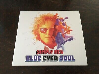 Simply Red-Blue Eyed Soul 10 Track Cd Album. Like New.