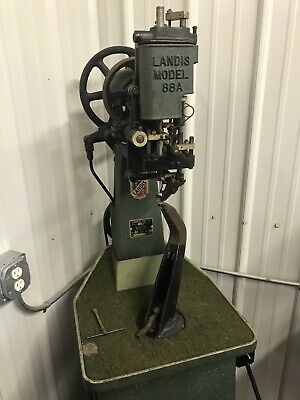 Landis 88A McKay Stitcher Boot Shoe Repair