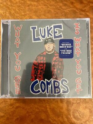 Luke Combs **What You See Is What You Get **BRAND NEW CD In Hand Ready To Ship
