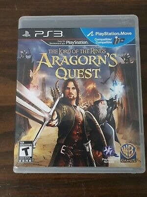 Lord of the Rings Aragorn's Quest Playstation 3