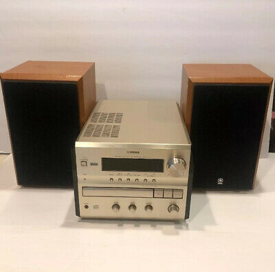 Yamaha CRX-E300 CD-Receiver and Speakers  (100)