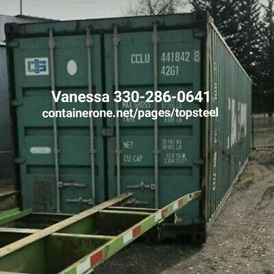 Steel Conex Storage Cargo Shipping Containers