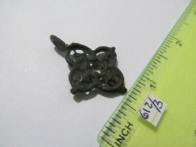Ancient bronze cross Kievan Rus Vikings 11-13 AD № 612/3