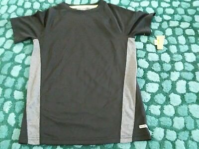 new sports top black age 8 new with tag