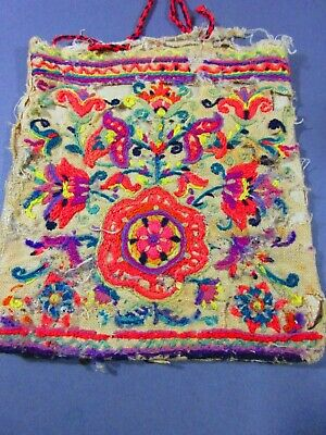 Late 19th / Early 20th Century South American Tourist Textile Bag