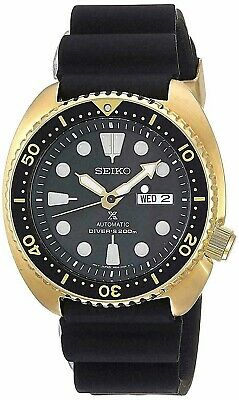 Seiko SRPC44 Prospex Automatic 200 Meter Dive Gold Tone Watch Silicone Band