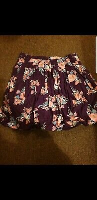 Pretty Girls designer fcuk french connection Skirt age 12 years